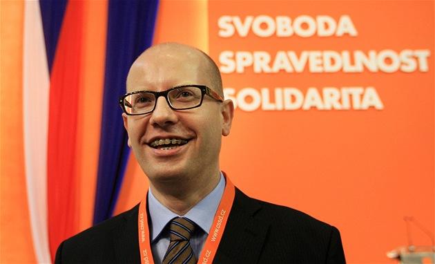 Premiér a šéf ČSSD Bohuslav Sobotka