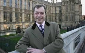 Bývalý předseda euroskeptické Strany nezávislosti Spojeného království (UKIP) Nigel Farage