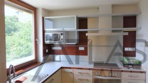 Kitchen - For Rent: Luxury 2BD Apartment, 172 sqm, Prague 2 - Vinohrady, Americká street
