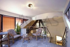 Upstairs - Nice very spacious 4+kk with terrace, 232 sq.m., Prague 5 Metro Line B Anděl