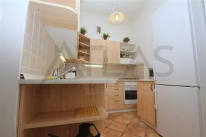 Kitchen - Rent of fully furnished 2-bedroom apartment, Prague 2 - Vinohrady, Slezska Street