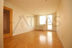 obývací pokoj - Pronájem bytu 2+kk, 40 m2 Mělník, ul. Sportovní