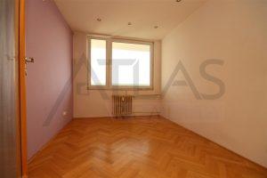ložnice - Pronájem bytu 2+kk, 40 m2 Mělník, ul. Sportovní