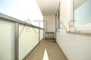 balkon - Pronájem bytu 2+kk, 40 m2 Mělník, ul. Sportovní