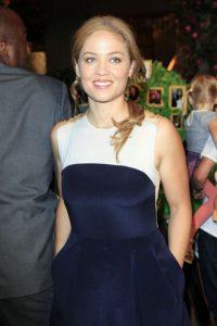 Americká Hollywoodská herečka Erika Christensen
