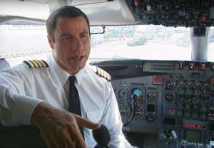 John Travolta je vášnivý pilot a milovník a majitel letadel
