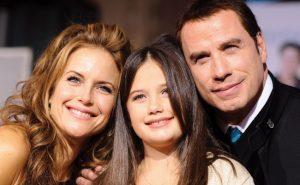 Kelly Preston, John Travolta a jejich dcera Ella Bleu Travolta