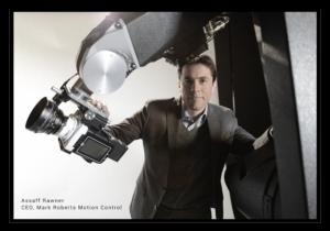 Assaff Rawner je ředitel firmy Mark Roberts Motion Control