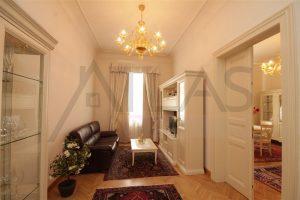 Pronájem bytu 3+kk, Praha 1 - Nové Město, blízko Náměstí Republiky, Truhlářská ulice , obývací pokoj
