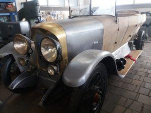 Výroba karoserie historického vozu
