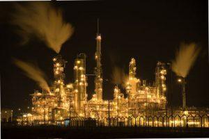 Nigériejská ropná refinérie