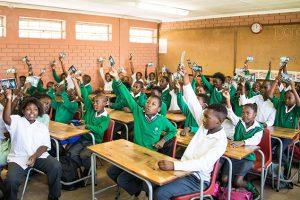 Studenti ve všech devíti jihoafrických provinciích získávají Pravdu o drogách prostřednictvím programu na vzdělávání drog podporovaného církví.