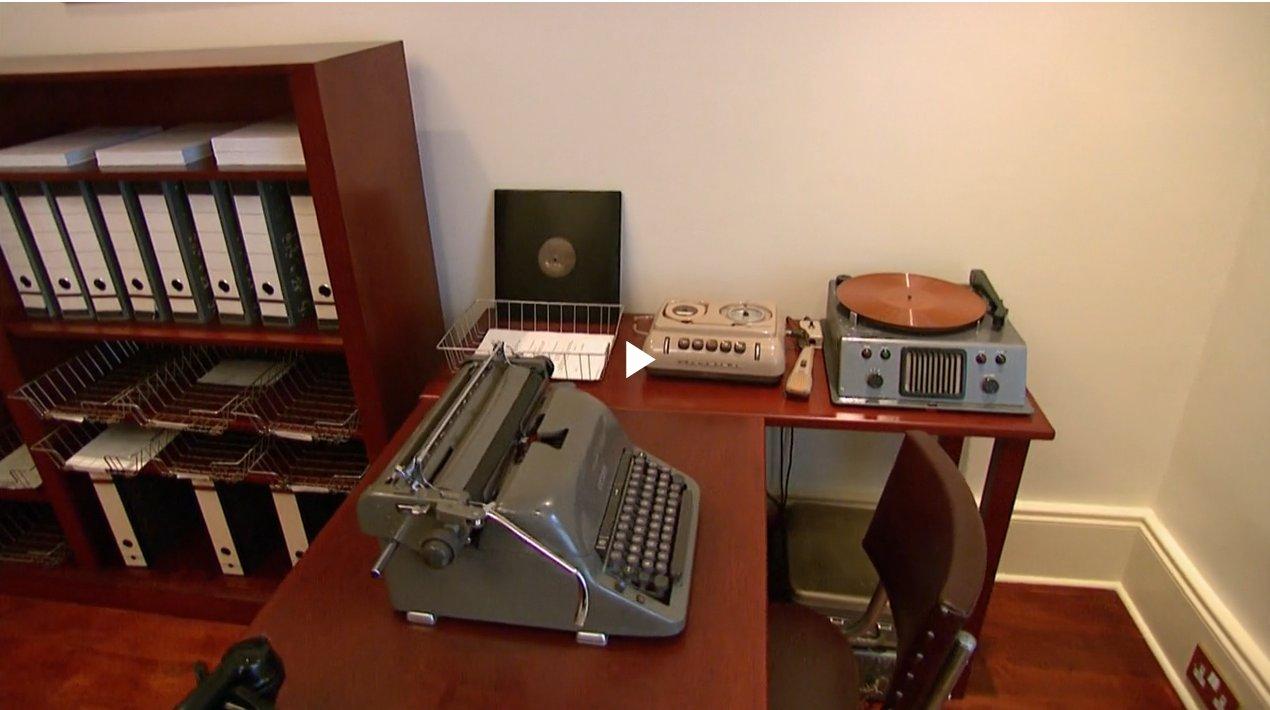 Fitzroy House London L. Ron Hubbard kolébka Scientologie