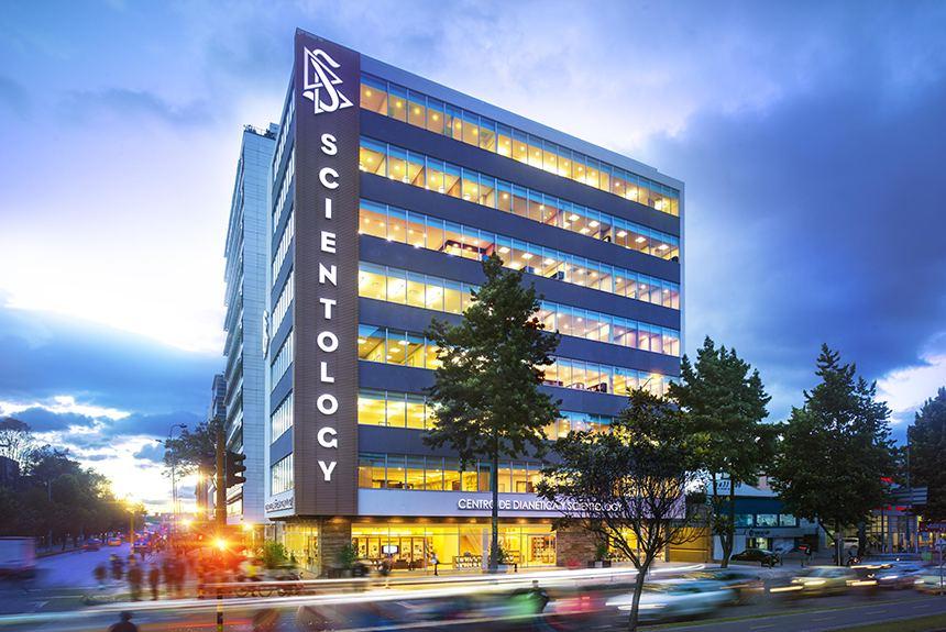 Ideální Scientologická organizace Bogota Kolumbie