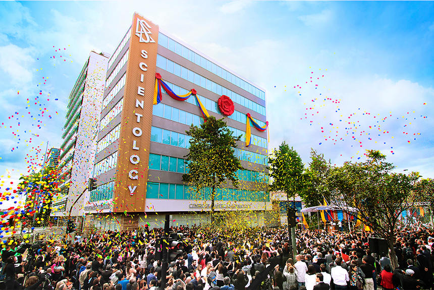 Scientologická církev Bogota Kolumbie