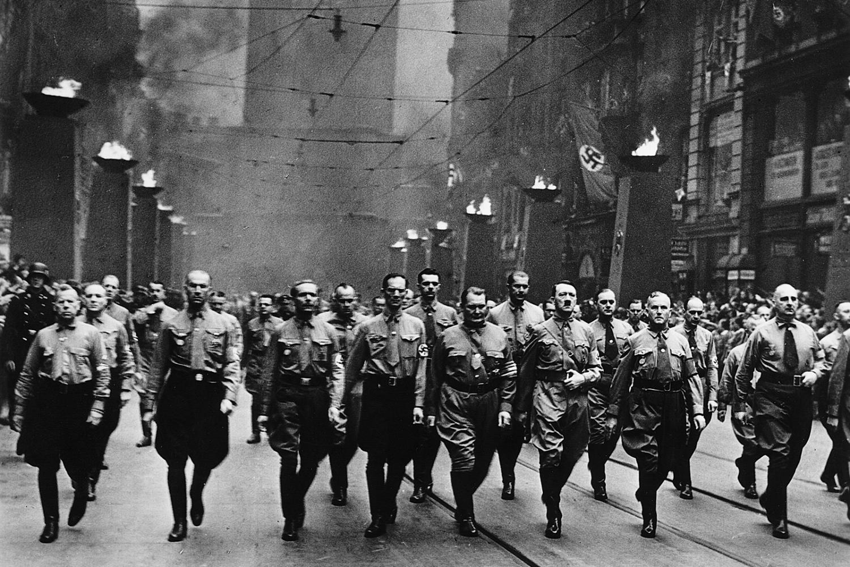 nacistický pochod Adolfa Hitlera Mnichov