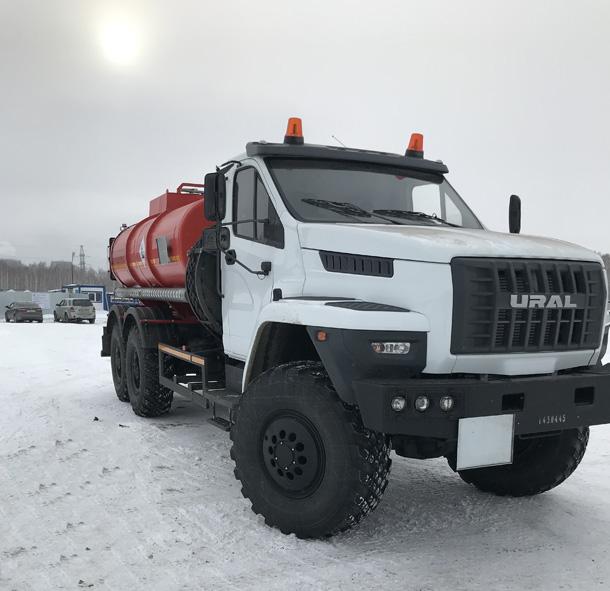 """Společnost JSC """"Transneft - západní Sibiř"""" doplnila flotilu speciálního vybavení"""