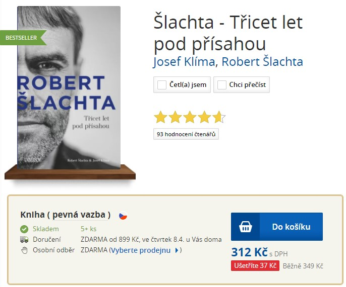 Šlachta - Třicet let pod přísahou Josef Klíma, Robert Šlachta