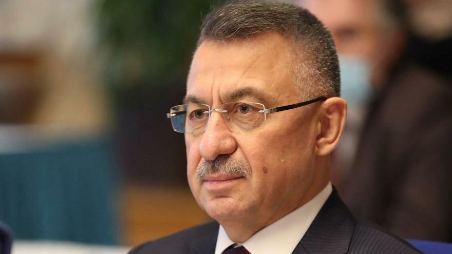 Turecký viceprezident Fuat Oktay